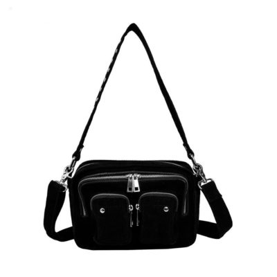 Ellie Corduroy black bag
