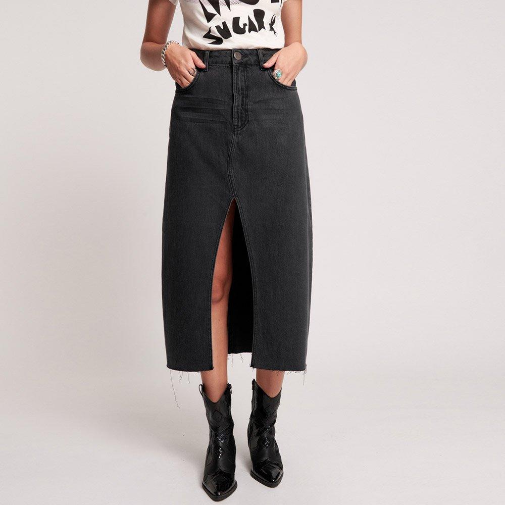 Falda-Rocko-worn-black-One-Teaspoon_3