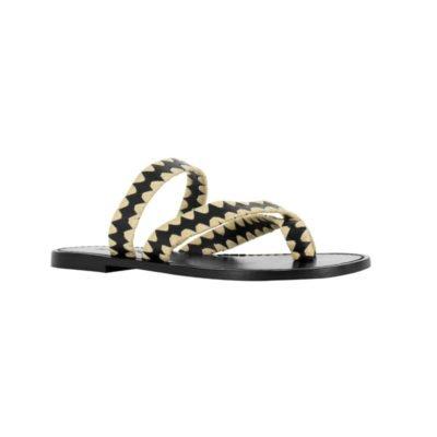 Foster I ebony sandal (PRE-SALE)