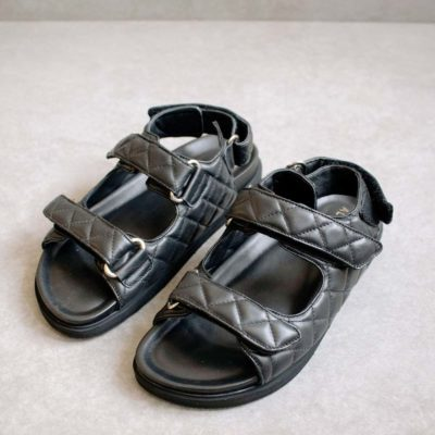Hook Loop black Sandal (PRE-SALE)