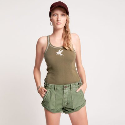 Khaki Cargo Bandits shorts