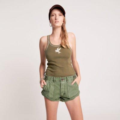 Khaki Cargo Bandits shorts (PRE-SALE)