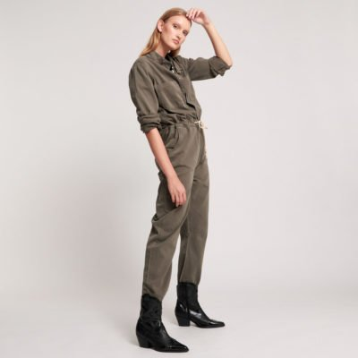 Dark khaki Starship jumpsuit