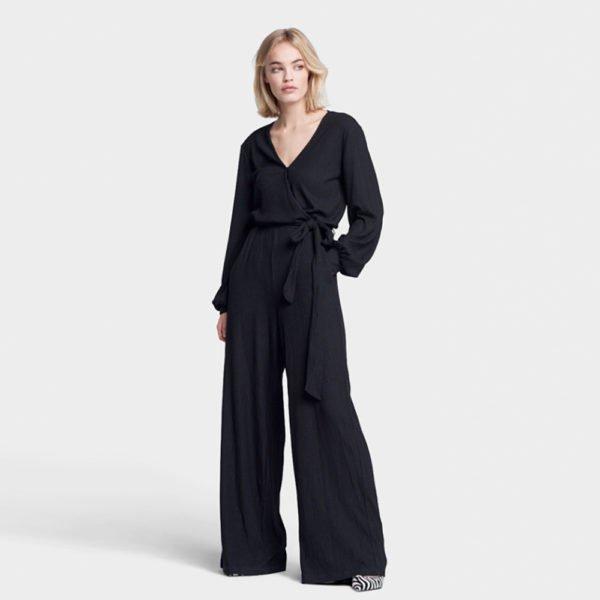 Firm rib jumpsuit (PRE-SALE)