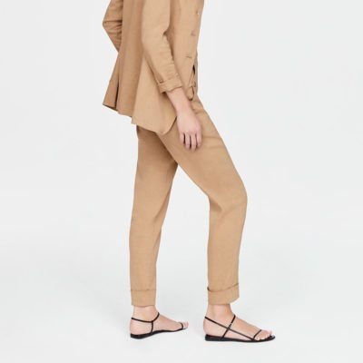 Essence linen trousers