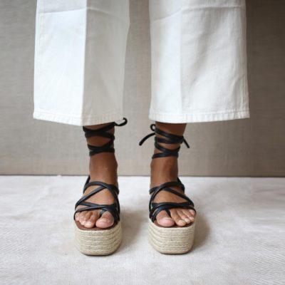 Paw-Paw black sandal